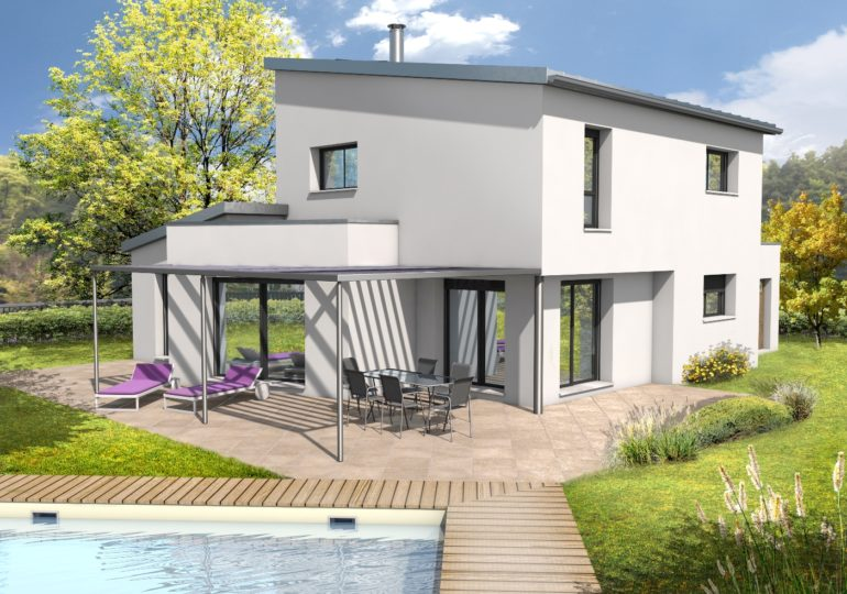 Maison contemporaine T5 131m2