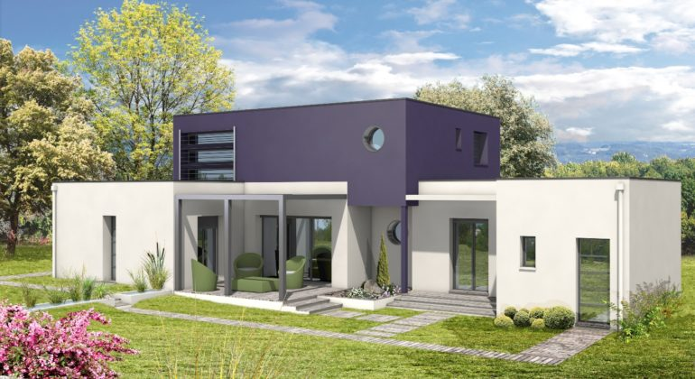Maison contemporaine T5 118m2