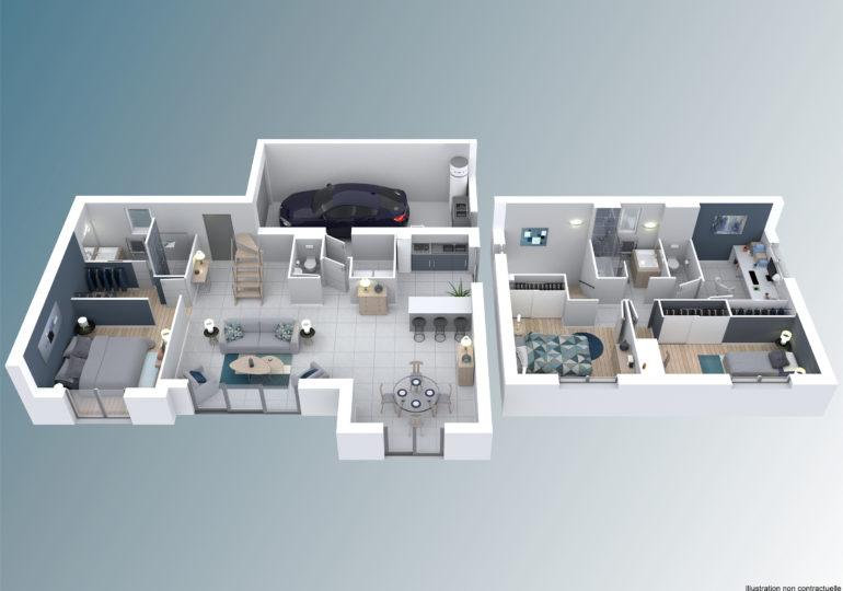 Maison moderne T4 115m2