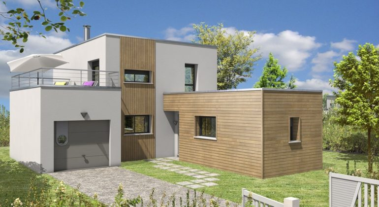 Maison contemporaine T5 115m2