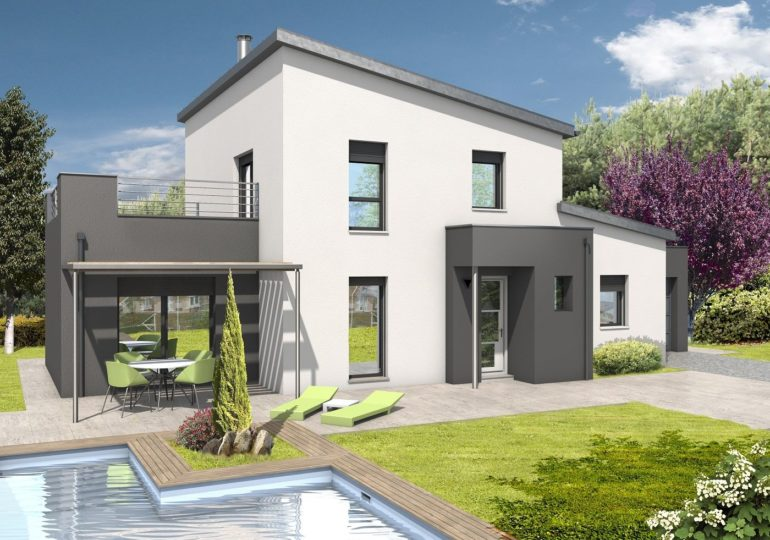 Maison contemporaine T4 140m2