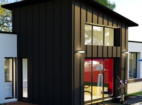 maison moderne 120 m² pleuven