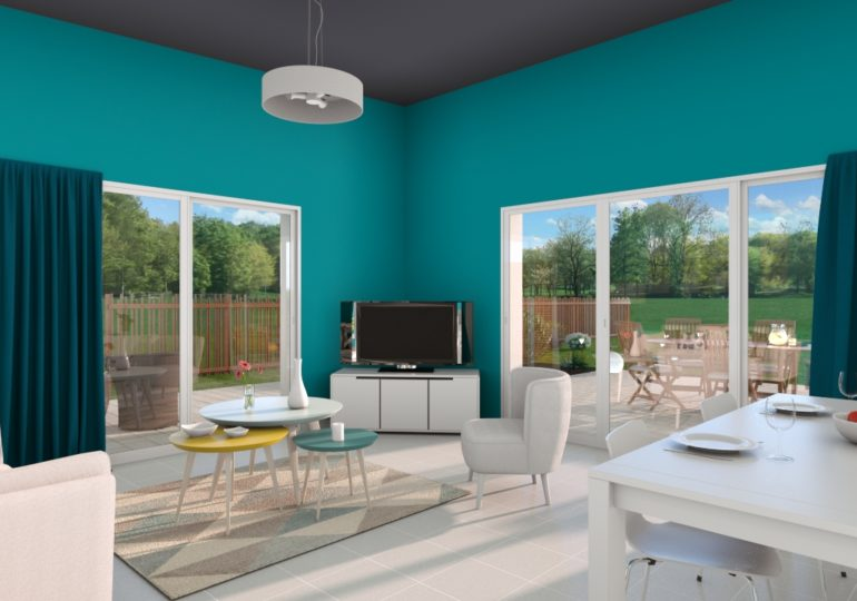 r+1 traditionnelle et familiale 107 m²
