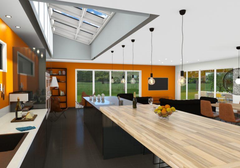 Maison Moderne intérieur 180 m²