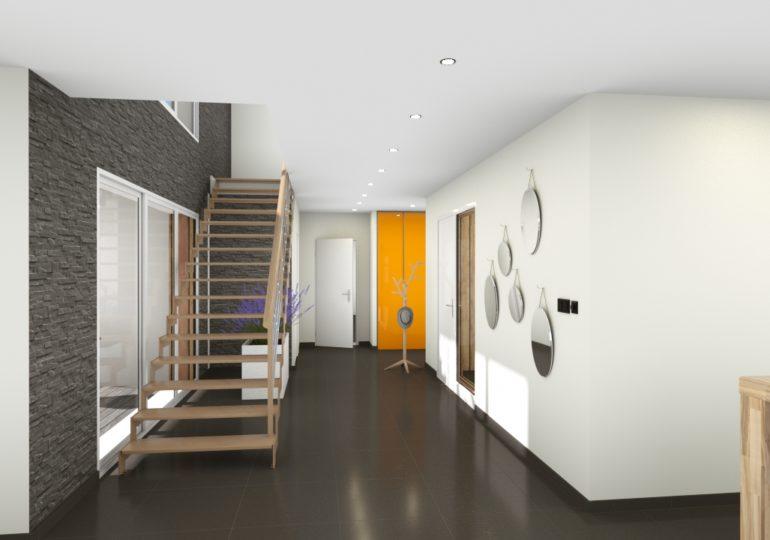 Maison Moderne intérieur