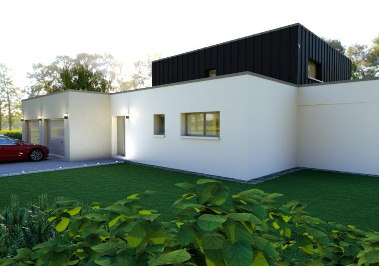 Maison Moderne Géo entrée