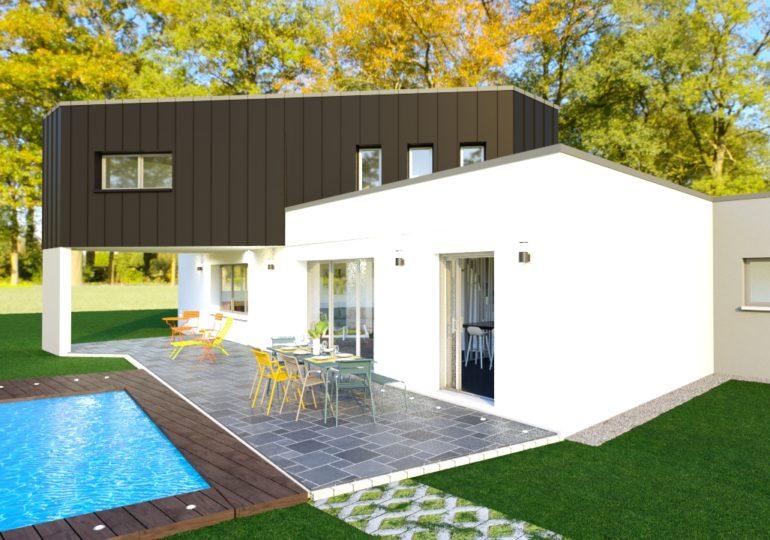Maison Moderne Géométrique 150 m²