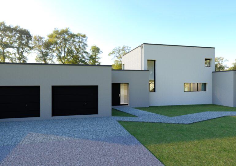 Maison Moderne 170m²