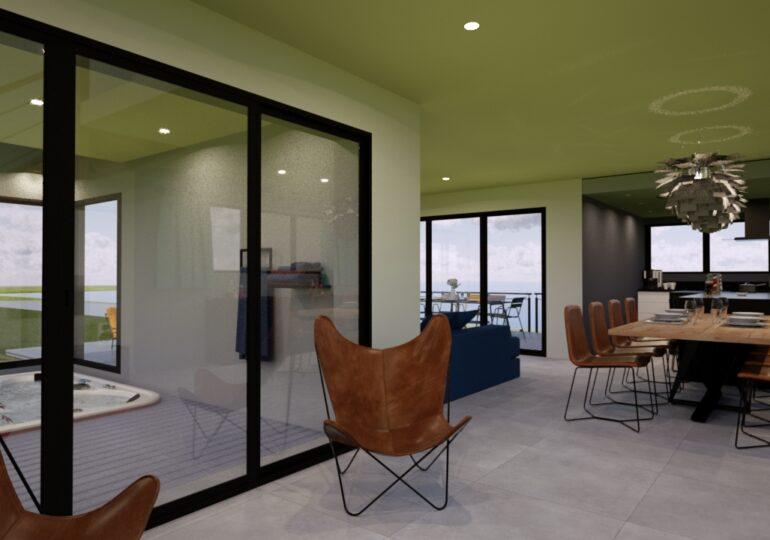 Maison Moderne 170m² vue mer