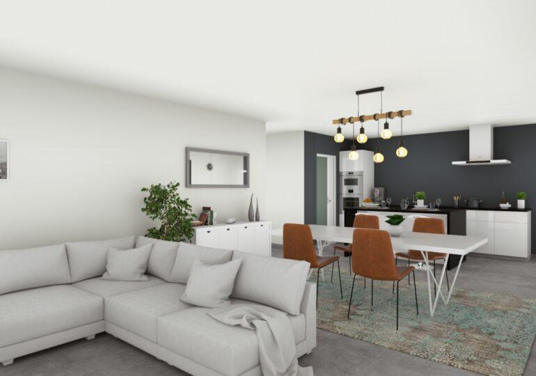 Maison traditionnelle 107 m²
