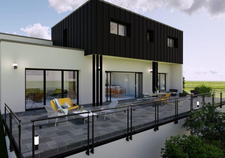 maison contemporaine 140m²