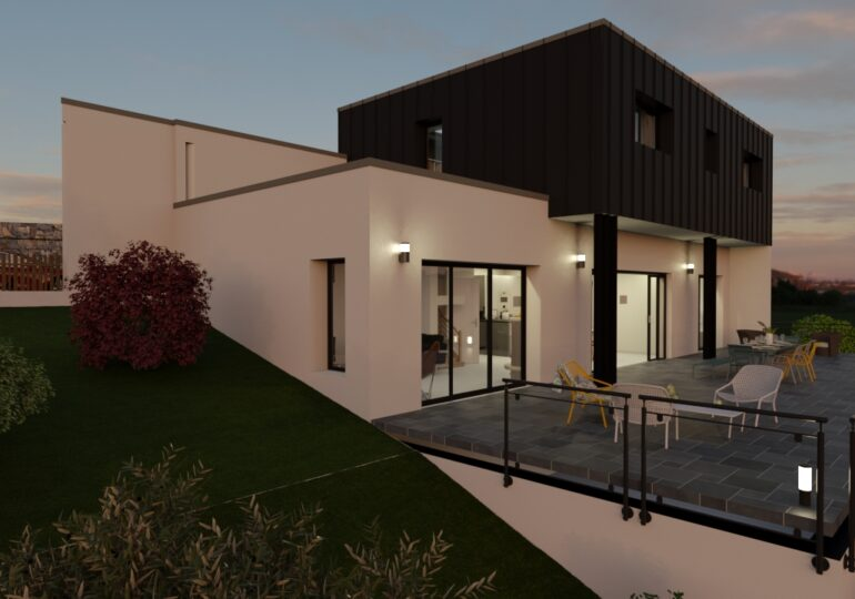 MAison contemporaine 140 m²