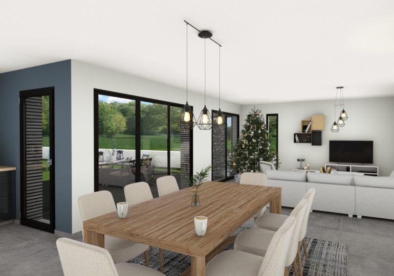 traditionnelle contemporaine 143 m²