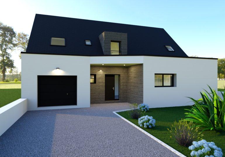 Maison traditionnelle 143 m² entrèe