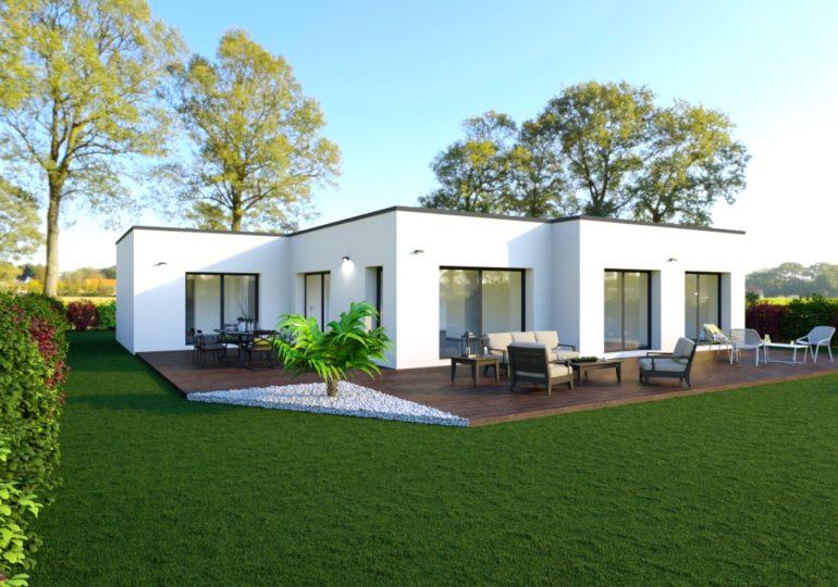Maison moderne 132 m²