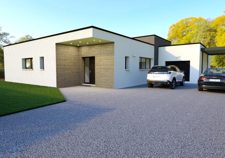 Maison Moderne 116 m²