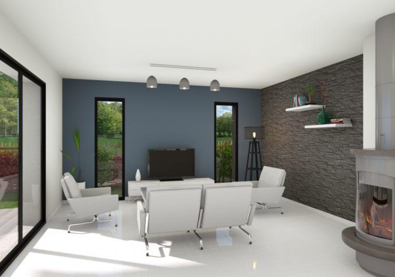 maison contemporaine 138 m²
